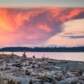 Dramatic clouds during sunset at Island View Beach.- 30 Photos That Will Make You Want To Visit British Columbia