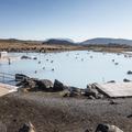 Jarðböðin is set in a vast and colorful landscape.- Guide to Iceland's Ring Road