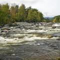 Jay Falls.- 15 Must-see Fall Foliage Adirondack Adventures