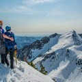 View on top of the Sperry Peak summit.- 35 Summit Views Worth Hiking For