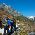 Up the valley toward Elan Lake.- Mountain Loop Highway Itinerary