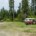 Entrance to Black Pine Horse Camp + Campground.- Great Camping Near the Enchantments