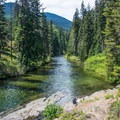 Icicle Creek from Rock Island Campground near the Enchantments.- Washington's 50 Best Swimming Holes