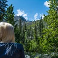Breathtaking views from Ida Creek Campground.- Great Camping Near the Enchantments
