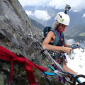 Belay station on Chair Peak where there is a piton and additional protection.- 2017: The Year of the Outdoor Woman