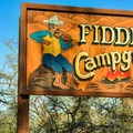 Welcome to Fiddlers Campground.- Camping in Death Valley National Park