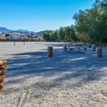 The sites at Fiddler's Campground are best suited for RVs.- Camping in Death Valley National Park