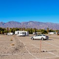 Sunset Campground.- Camping in Death Valley National Park