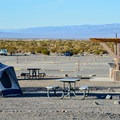 Camping at Stovepipe Wells Campground.- Camping in Death Valley National Park