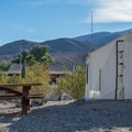 Tent cabins at Panamint Springs.- A Guide to Camping in the Mojave Desert