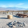 Group site at Panamint Springs.- Camping in Death Valley National Park