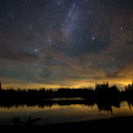 Milky Way over Scout Lake.- Jefferson Park via Whitewater Creek Trail