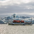A boat ride on the glacier lagoon.- Guide to Iceland's Ring Road