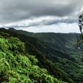 Elevation gains quickly, and ropes are frequently used on the muddy flanks of K2.- O'ahu's 16 Best Hikes