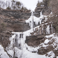 Kaaterskill Falls is New York State's highest two-tier waterfall.- 26 Amazing Snowshoe-to-Waterfall Adventures