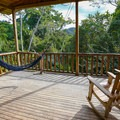 Chairs and hammocks on the cabin porch at the Cerro Escondido Lodge.- 4 Tips To Take Your Costa Rica Adventures to the Next Level