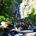 North Fork of the Smith Falls.- Exploring Oregon's Coastal Waterfalls