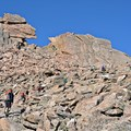 The famous keyhole on Longs Peak.- 10 Summits You Should Climb in Your Life