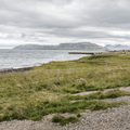 The Grundarfiord Bay and North Atlantic.- Dramatic Fjord Formations