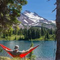 Mount Jefferson from Jefferson Park. Best hammock spot ever?- Where to Watch August's Solar Eclipse