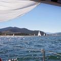 Sailing on Dillon Reservoir.- Gorgeous Colorado Lakes for Summer Adventure
