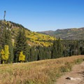 The Lake Mary, Martha and Catherine Lakes Trail.- 5 Ways to Experience Autumn in Utah