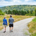 The family-friendly hike up Mount Sunapee is a great way to enjoy the fall foliage. - Ultimate Leaf-Peeping Road Trip through New England