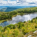 View of Lake Solitude from White Ledges.- New Hampshire's Best Lakes for Summer Adventure