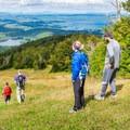 Heading down a Mount Sunapee ski trail.- 10 Great Hikes Near Concord, New Hampshire