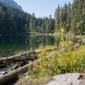 Hidden Lake adjacent to Lake Wenatchee.- Washington's 50 Best Swimming Holes