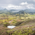 The Laugavegur Hiking Trail passes through beautiful but hard-to-pronounce sites like the lake Álftavatn.- 10 International Treks for your 2019 Bucket list
