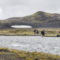 Crossing Bláfjallakvísl on the Laugavegur.- 14 Must-Do Activities In Iceland