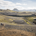 The gorge through Almenningar on the Laugavegur hiking trail.- The Secret to Avoiding Summertime Crowds in Iceland