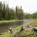 Lewis River Channel.- 6 Best Backpacking Trips in Yellowstone National Park
