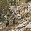 A beautiful section of rocks in the Ruby Mountain Wilderness.- Ruby Mountains Wilderness
