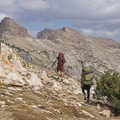 The pass over Liberty Lake is spectacular.- Ruby Mountains Wilderness