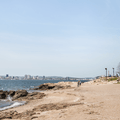 Looking out to New Haven, Connecticut at Lighthouse Point Park.- Step Back in Time at These Amazing Historic Sites