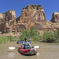 The Little Grand Canyon of the San Rafael River in desert Utah.- 10 Great Rafting Trips in the Rocky Mountains