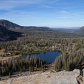 View of Cutthroat Lake along the Lofty Lake Loop Hike. - Where to Hike In Utah's Uinta Mountains