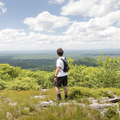 Gazing out to the west from the Long Path.- 10-mile Hikes You Can't Miss