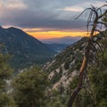 Mount Baldy in the distance as seen from the approach to San Gorgonio.- 10 Great Hikes in the San Bernardino Mountains