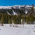 Looking toward Crystal Crag.- Panorama Dome