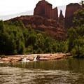Red Rock Crossing at Crescent Moon Ranch.- Arizona Swimming Holes