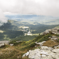 Overlooking Stowe Mountain Resort from the summit of Mount Mansfield.- The Ultimate Fall Foliage Road Trip in Vermont