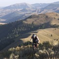 Nearing the top of Bear Gulch.- Idaho's Best Adventure Towns