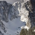 Horsman Peak and the Sickle Couloir.- Backcountry Skiing + Education near Sun Valley, Idaho