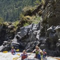 Paddling through Lower Washboard Rapid on the Rogue River.- The Pacific Northwest