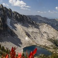 Looking across Arrowhead Lake to Anderson Peak from above the Queens River Divide.- 35 Summit Views Worth Hiking For