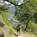 Hiking along the Rogue River Trail.- Oregon's Best Backpacking Trips