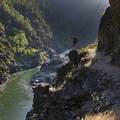 Inspiration Point above the lower end of Mule Creek Canyon on the Rogue River Trail.- Oregon's Best Backpacking Trips